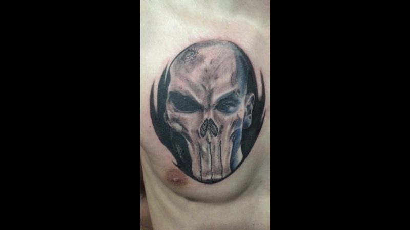 Punisher. by law_tattoo