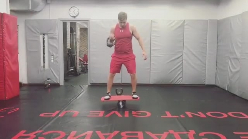 Egor_burkin тренировки на баланс борде