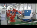 Grinding and polishing of implants with a ABB Robot