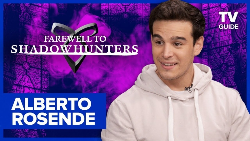 Farewell to Shadowhunters Alberto Rosende Teases Sizzy Romance