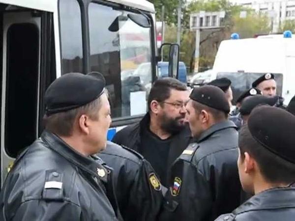Задержание Юрия Екишева 07.10.2012г.