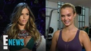 VS Model Josephine Skriver's Angel Wings Workout E News