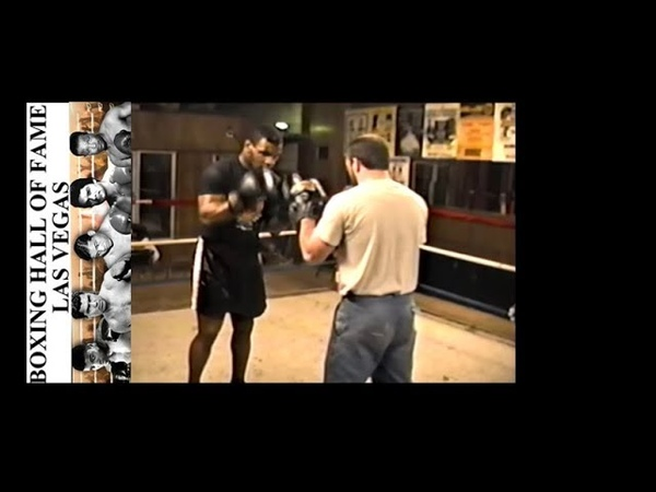 Mike Tyson Demonstrating Great Punching on the Pads – February 15, 1987