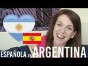 21 COSAS QUE ME SORPRENDIERON DE ARGENTINA || CHICA ESPAÑOLA EN ARGENTINA