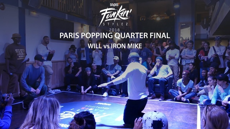 Funkin' Stylez Paris preselections - Popping quarter final : Will vs Iron Mike