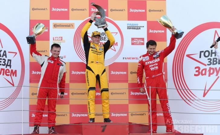 Николай Карамышев выиграл бронзу гонки звёзд «За рулём»