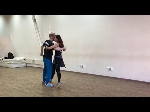 Yury Ovchinnikov Taty Pinarina Zouk demo 13.10.2018