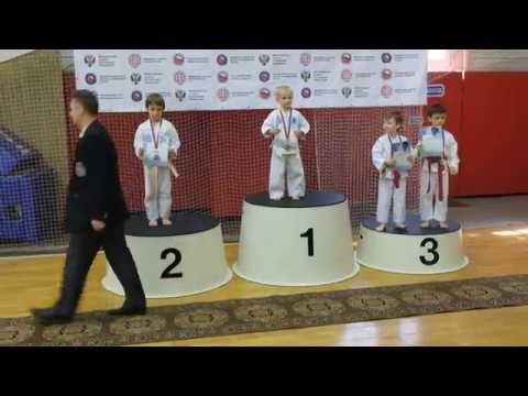 Open Russia Shito-ryu 2018. Соревнования по карате в Лобне. Мальчики 5 лет одиночное ката.