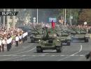 В Курске прошёл праздничный парад в честь 75-летия победы Красной Армии на Курской дуге