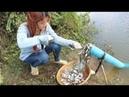 Croire Cette Pêche Système Unique De Piégeage De Poissons Nouvelle Technique De Capture Du Poiss