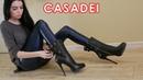 Nana s platform high heels original Casadei ankle boots Size EU 40 US 9