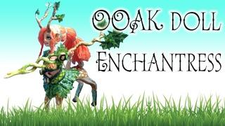 OOAK REPAINT doll Enchantress dota 2 custom Олениха DIY