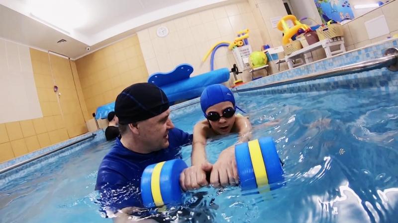 Подводная видеосъемка в центре семейного плавания АкваKid Проводите лето с пользой