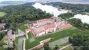 Аэросъемка Несвижского замка (Беларусь)/Nesvizh Castle (Belarus)