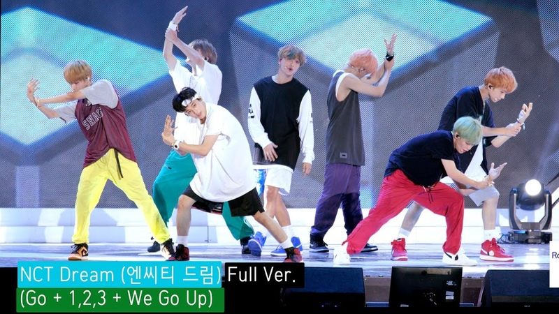 NCT Dream (엔씨티 드림) Full Ver. (Go 1,2,3 We Go Up) 4K 60P RAW 직캠]@180902 락뮤직