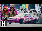 HOONIGAN Animal Style Goes To Japan American Drifters Attack Meihan Sports Land.