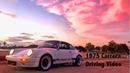 1975 Porsche 911 Carrera 3.2 RS RSR IROC Driving Video