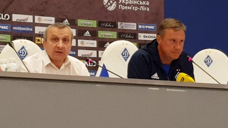 Александр Хацкевич: Счет на табло, а чемпион должен вести себя по-чемпионски