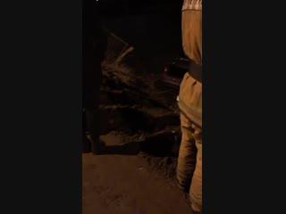 Жительница Петербурга утопила KIA Rio в озере (12.11.2018)