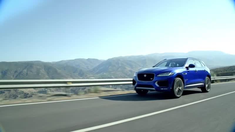 Jaguar F-PACE - Распознавание дорожных знаков