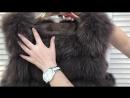 Жилетка песец 75 см Донецк