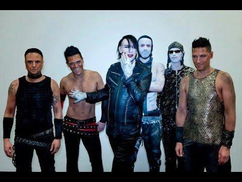 Marilyn Manson feat Rammstein - The Beautiful People (ECHO 2012) 1080p, Full HD