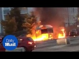 Multiple cars torched in Gothenburg shopping centre carpark - Daily Mail