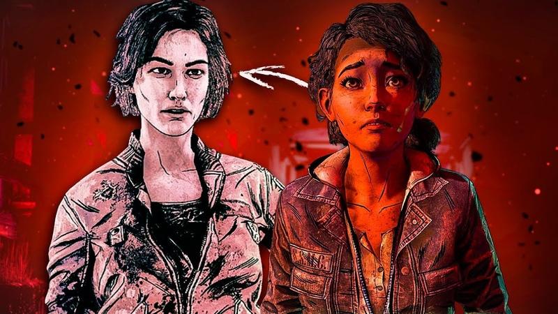 Как Лилли вернётся во 2 эпизод 4 сезона The Walking Dead The Final Season