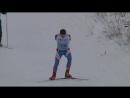 БЕЗ РУК лыжный Марафон 50 км видеоклип съемка лыжной гонки клип