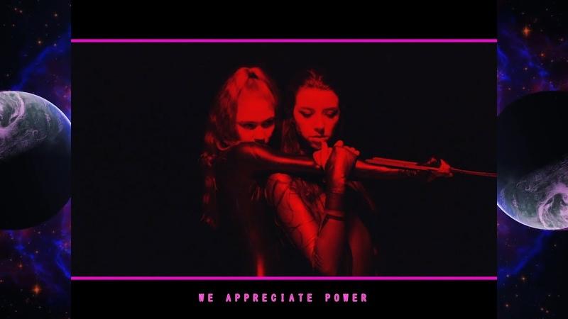 Grimes We Appreciate Power Lyric Video