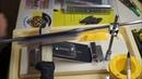 Заточка ножа на точилке Ruixin pro