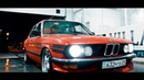 Retro BMW E28 with 1JZ GTE on a board