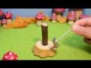 Приготовим блины из дерева! - Миниатюра mini-asmr, ASMR, toy, stopmotion animation