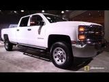 2018 Chevrolet Silverado 2500 HD - Exterior and Interior Walkaround - 2018 New York Auto Show
