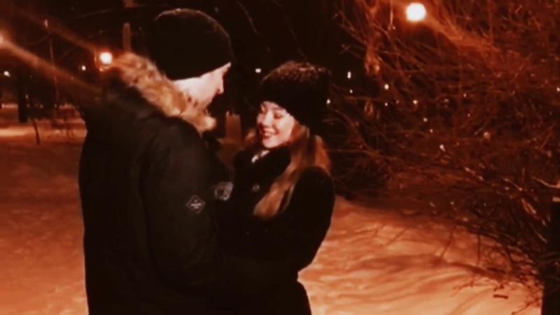Нарезка видео со съемок клипа Зимняя сказка