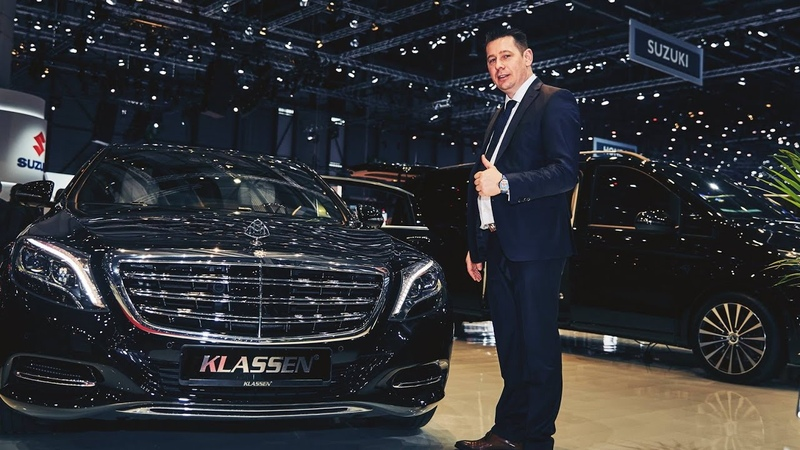 Mercedes-Benz V-Class MAYBACH KLASSEN ® VIP Edition (2017 Geneva Motor Show) | Paul KLASSEN