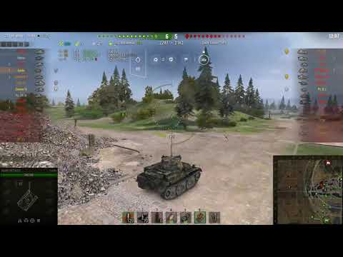 WoT Europe Luchs good fight and got the main caliber medal