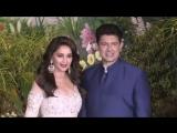 DHAK DHAK GIRL MADHURI DIXIT NENE ,Sonam Kapoor and Anand Ahuja wedding receptio