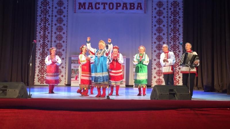 12 мая 2018г. Ансамбль мордовской народной песни «Лайме Порась» на ХХ областном мордовском фестивале «Масторавань тундо»