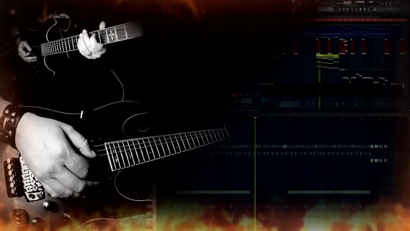 The Terminator theme (Rock Guitar _ Flstudio 12 co - 720P HD