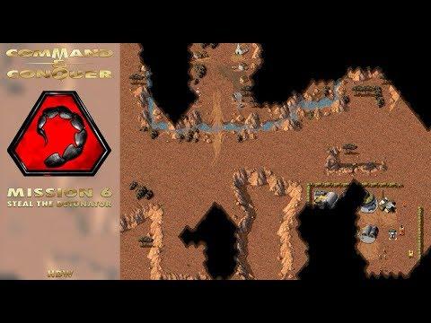 Command Conquer Tiberian Dawn - Nod Mission 6 - Steal The Detonator (Ivory Coast) [720p]
