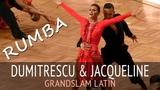 Dumitrescu Razvan &amp Jacqueline Joos Румба GOC2018 GrandSlam LATIN - 5тур