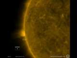NASA发布了太阳活动视频