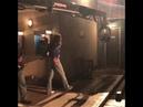 Adam Lambert and Rami Malek behind the scenes, Bohemian Rhapsody movie, the truck driver scene