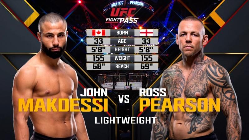 UFC ON FOX 30 John Makdessi vs. Ross Pearson