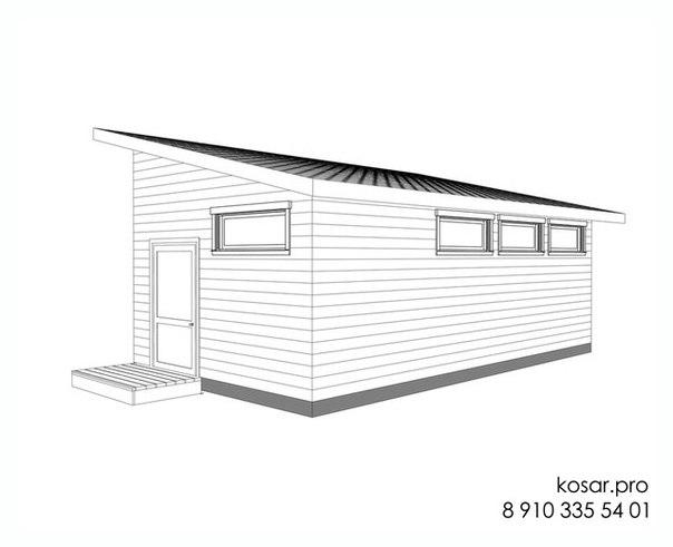 Одноэтажный дом 5012