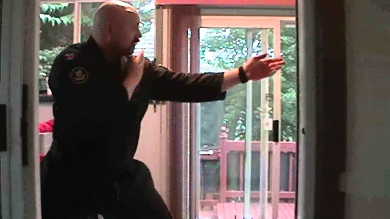 Bujinkan Ninjutsu, 9th Kyu, part 5 - GodaiGogyo, Chi no kata, block 3 finger strike