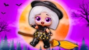 НАСТОЯЩАЯ ВЕДЬМОЧКА - WITCHAY BABAY HAIRGOALS OOAK Мультик про Куклы Лол Сюрприз