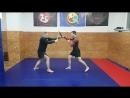 Элемент тренировки с мачете