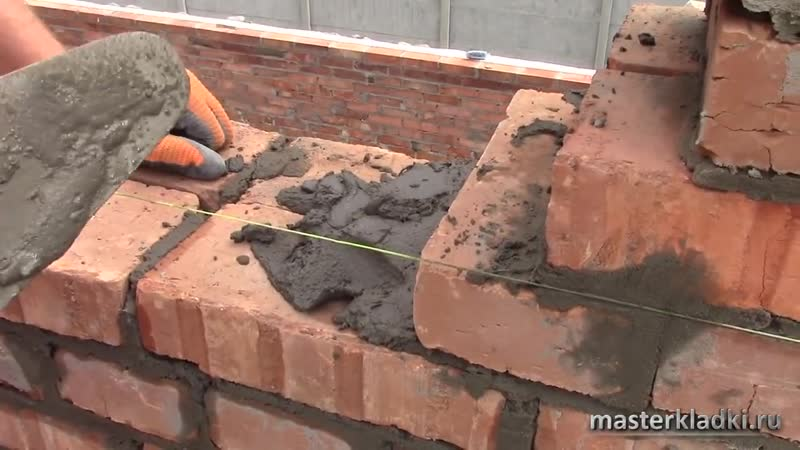 Ошибки начинающих каменщиков в кирпичной кладке